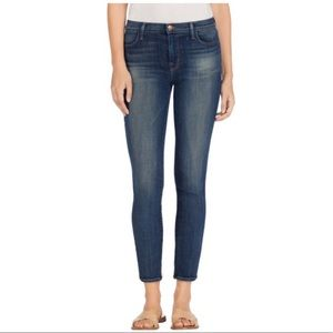 J Brand | Ankle zip high rise spirited skinny jean